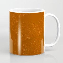 Sparkling Hills - Rust Orange Coffee Mug
