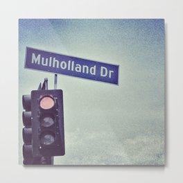Mulholland Dr. Metal Print