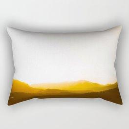 Sepia Sunset Rectangular Pillow