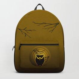 Halloween Owl Backpack