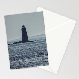 Whaleback Light Stationery Cards