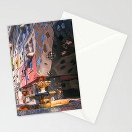 Hundertwasserhaus 3 Vienne Autriche Stationery Cards