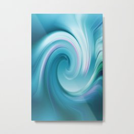 Blue wave 209 Metal Print