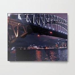 Iconic Sydney Metal Print