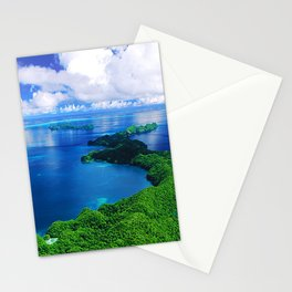 Breathtaking Tropical Island, Spectacular Ocean & Epic Sky Stationery Cards