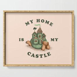 My Home Is My Castle Serving Tray