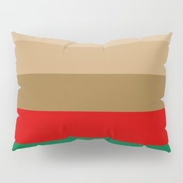 Coffee Irish Flavored Liqueur with Cream - Abstract Pillow Sham