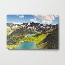 Moutain landscape 4 Metal Print