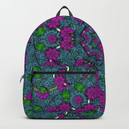 the most beautiful flower forest on earth Backpack