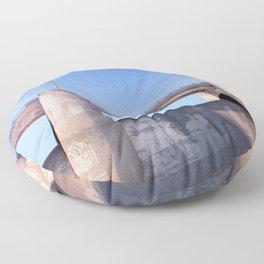 Sepulveda Dam Floor Pillow