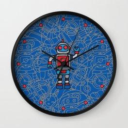 Robot 2 Wall Clock
