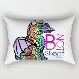 Baby B theDragon Rectangular Pillow