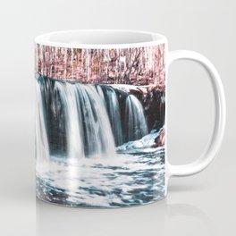 Waterfall and Snow-Minnesota Landscape Photography Coffee Mug