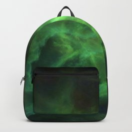 Ghostly Green Smoke Backpack