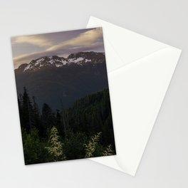 Never Stop Exploring - Cascade Sunset Stationery Cards