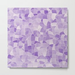 Geometric Shapes Fragments Pattern 2 pu2i Metal Print