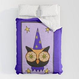 Vintage Halloween Owl Comforters