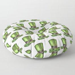 Saint Patrick's Day Leprechaun Hats Floor Pillow