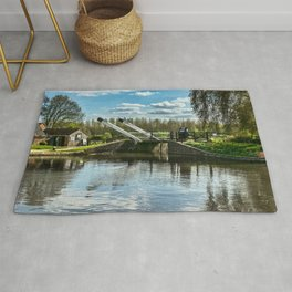 Bridge 221 On The Oxford Canal Rug