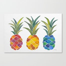 Pineapples Leinwanddruck