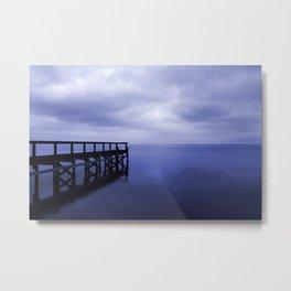 Serenity on the Lake Metal Print
