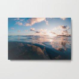 Waikiki Reflections Metal Print