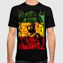 Haile Selassie Lion of Judah T-shirt