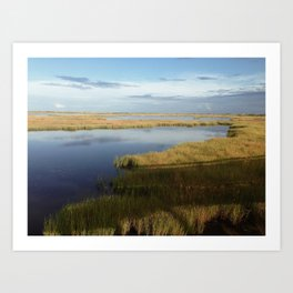 Oregon Inlet Art Print