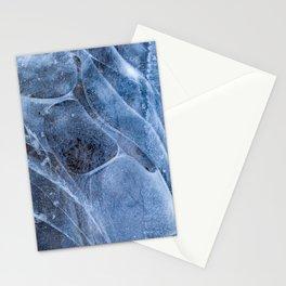 ice patterns Stationery Cards