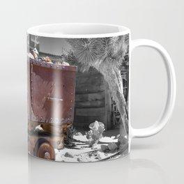Rusty minecart Coffee Mug