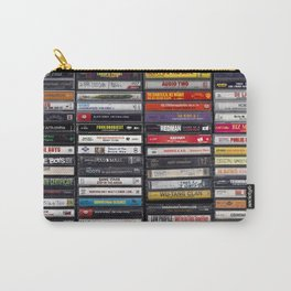 Old 80's & 90's Hip Hop Tapes Carry-All Pouch