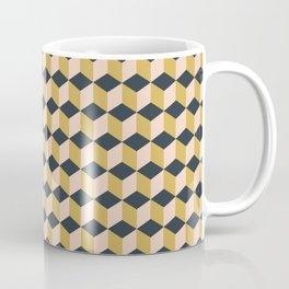 Making Marks Cube Illusion Dark Coffee Mug