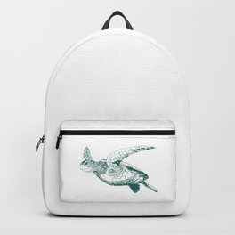 Kemp's Ridley Sea Turtle Backpack