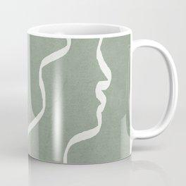 Abstract Faces Coffee Mug