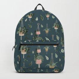 Modern Boho Macrame Plant Hangers Pattern Backpack