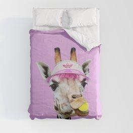 TENNIS GIRAFFE Comforters