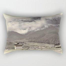 Tibetian Village Rectangular Pillow