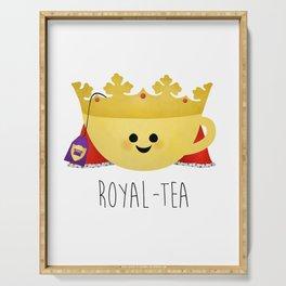 Royal-tea Serving Tray