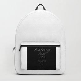 history - hamilton Backpack