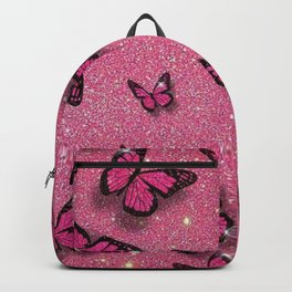 Sparkle Butterflies Backpack