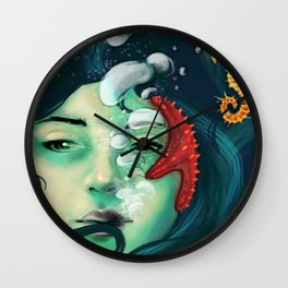 Deep Concious Wall Clock