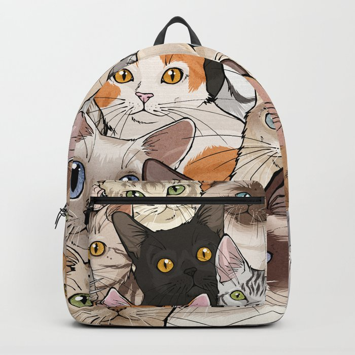A lot of Cats Rucksack