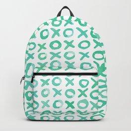 Xoxo valentine's day - aqua Backpack