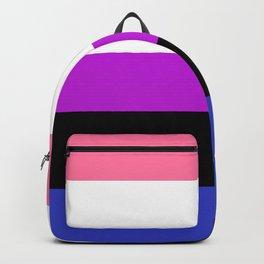Genderfluid Pride Backpack