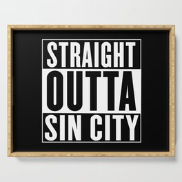 Straight Outta Sin City Serving Tray