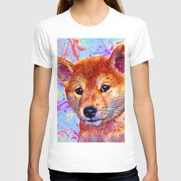Shiba Inu Puppy T-shirt