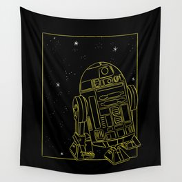 """R2-D2"" by Maggie Stephenson Wall Tapestry"