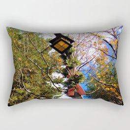 Christmas Lamp Post Rectangular Pillow