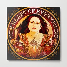 Sharon Den Adel - Within Temptation Metal Print