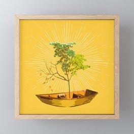 PILSNER TREE Framed Mini Art Print